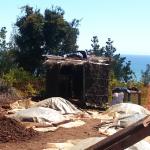 Kompost z widokiem na ocean