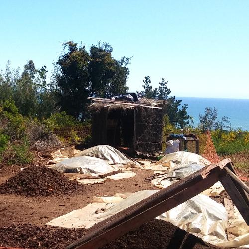 Curanipe: Przepis na kompost z widokiem na ocean