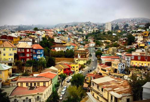 Chile: Przeciętna ulica w przeciętnym mieście